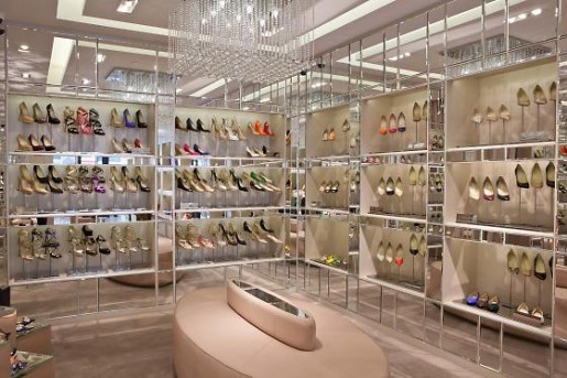 jimmy choo new san fran boutique