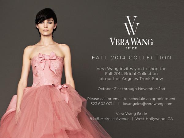 brides-to-be: vera wang trunk show starts tomorrow…